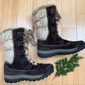 TIMBERLAND warm winter snow boots, 8, 39.